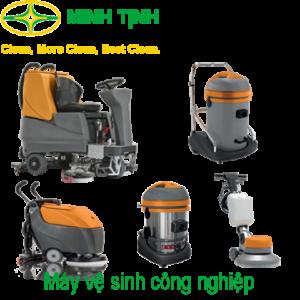 Máy vệ sinh công nghiệp do Minh Tịnh phân phối