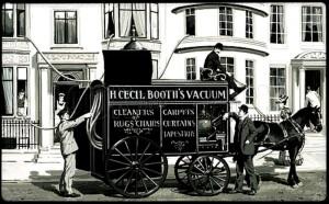 Lịch sử phát triển của máy hút bụi