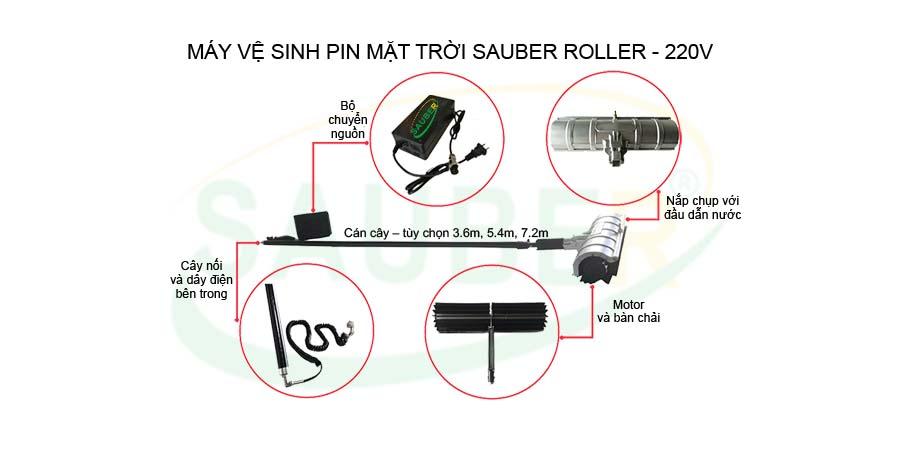 Máy vệ sinh pin mặt trời